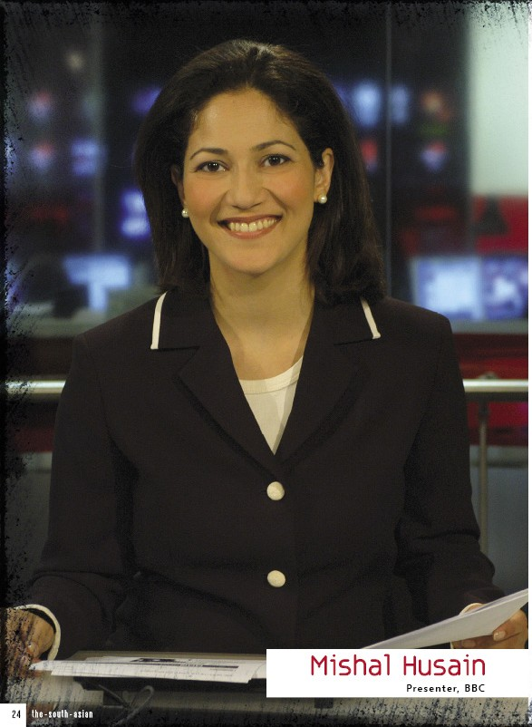 Asian news reader